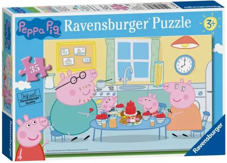 Puzzle 35 Świnka Peppa. Deser - Ravensburger