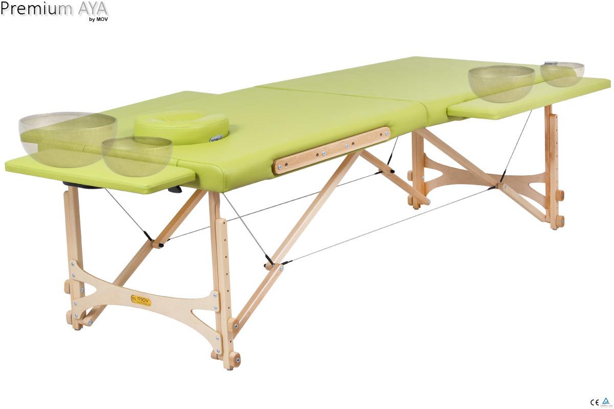 Składany stół do masażu Premium AYA