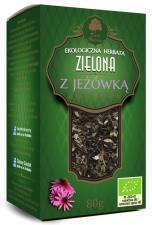Herbata zielona Z JEŻÓWKĄ BIO 80 g Dary Natury