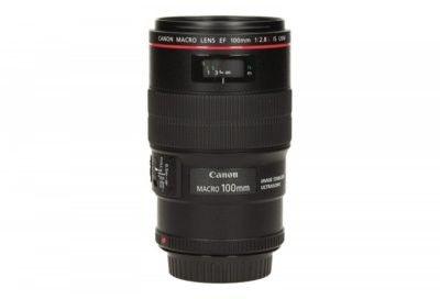 Canon EF 100mm f/2.8 L IS USM Macro Czarny