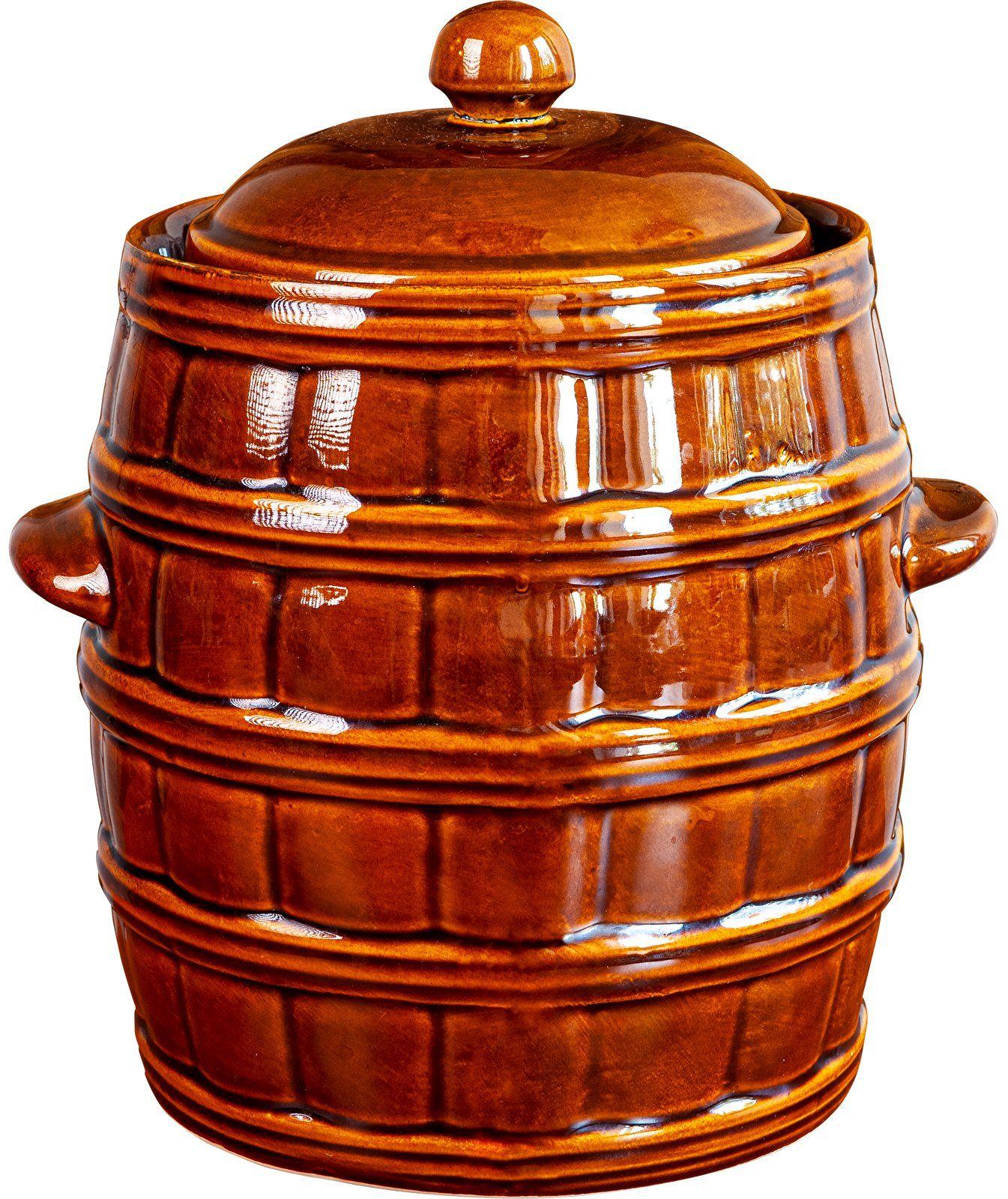 Kamionka - beczka z uszczelką wodną, 25 L