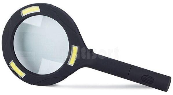 Podświetlana lupa ręczna x2.5 80mm