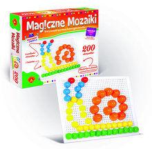 Magiczne mozaiki kreatywność+edukacja 200 elementów