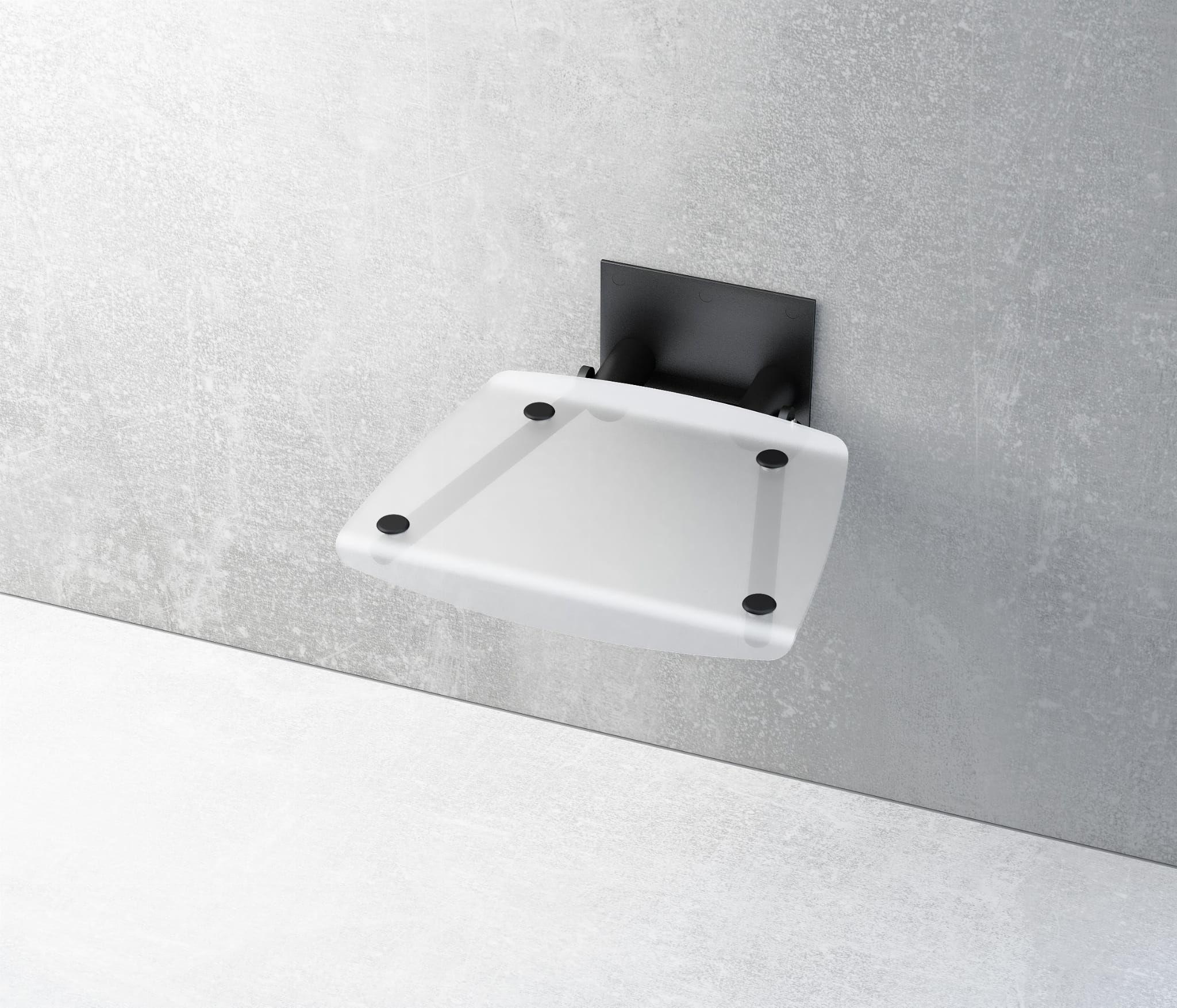 Ravak siedzisko prysznicowe Ovo B clear/czarne B8F0000045 wysyłka 24h