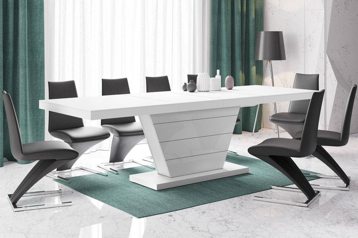 Stół rozkładany Vega biały mat
