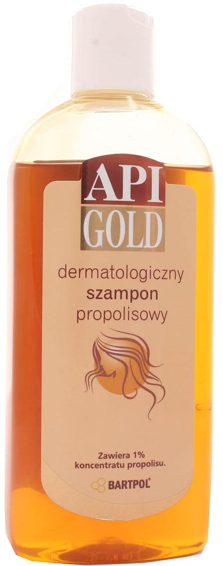 Szampon propolisowy dermatologiczny - Api Gold Bartpol - 280ml
