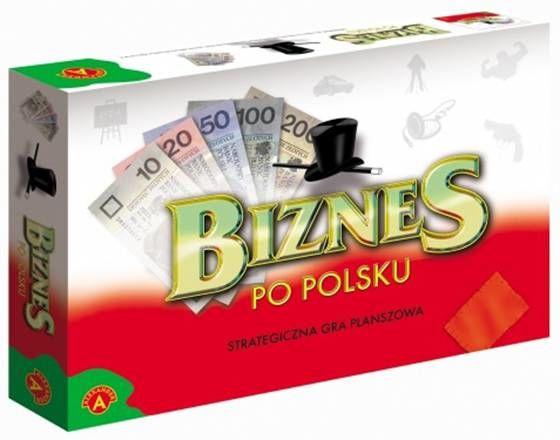 Biznes po polsku duży gra planszowa