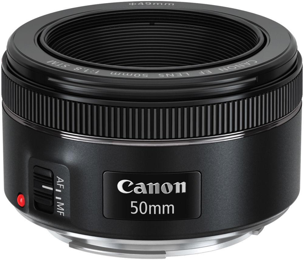 Canon EF 50mm f/1.8 STM Czarny