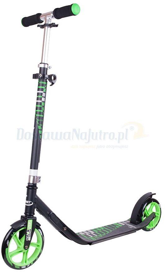 Hulajnoga Hornet HUDORA CLVR 200 czarno-zielona 100kg XXL SKŁADANA