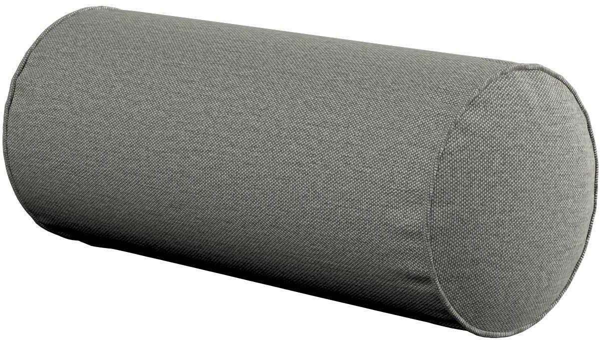 Poduszka wałek prosty, szary, Ø16  40 cm, Etna