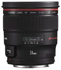 Canon EF 24mm f/1.4L II USM Czarny