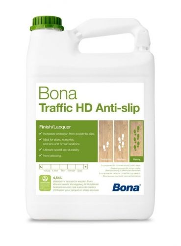 BONA TRAFFIC HD ANTI SLIP - 4,95 L - NOWOŚĆ !