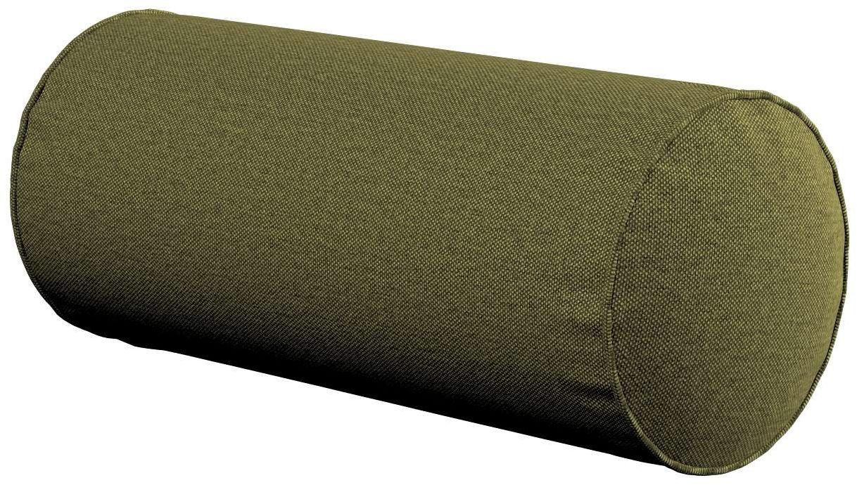 Poduszka wałek prosty, oliwkowa zieleń, Ø16  40 cm, Etna