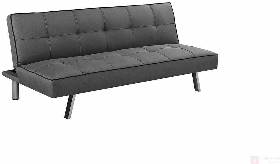 KUPON 10% NA STRONIE  Sofa tapicerowana CARLO Halmar Szary ciemny [Wysyłka 2020-03-10]