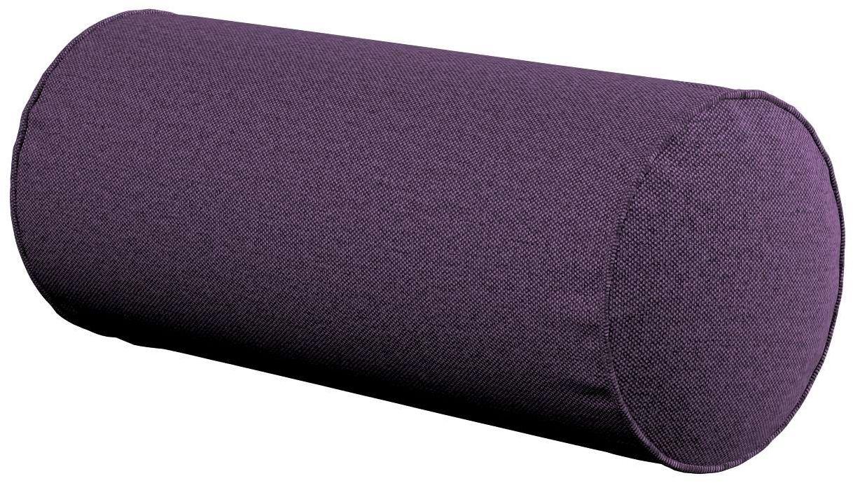 Poduszka wałek prosty, fioletowy, Ø16  40 cm, Etna
