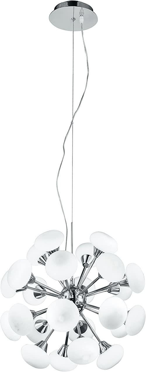 Eco Light I-JUPITER/S24 A+, lampa wisząca LED, chrom, 3 W, biała, 120 x 40 cm