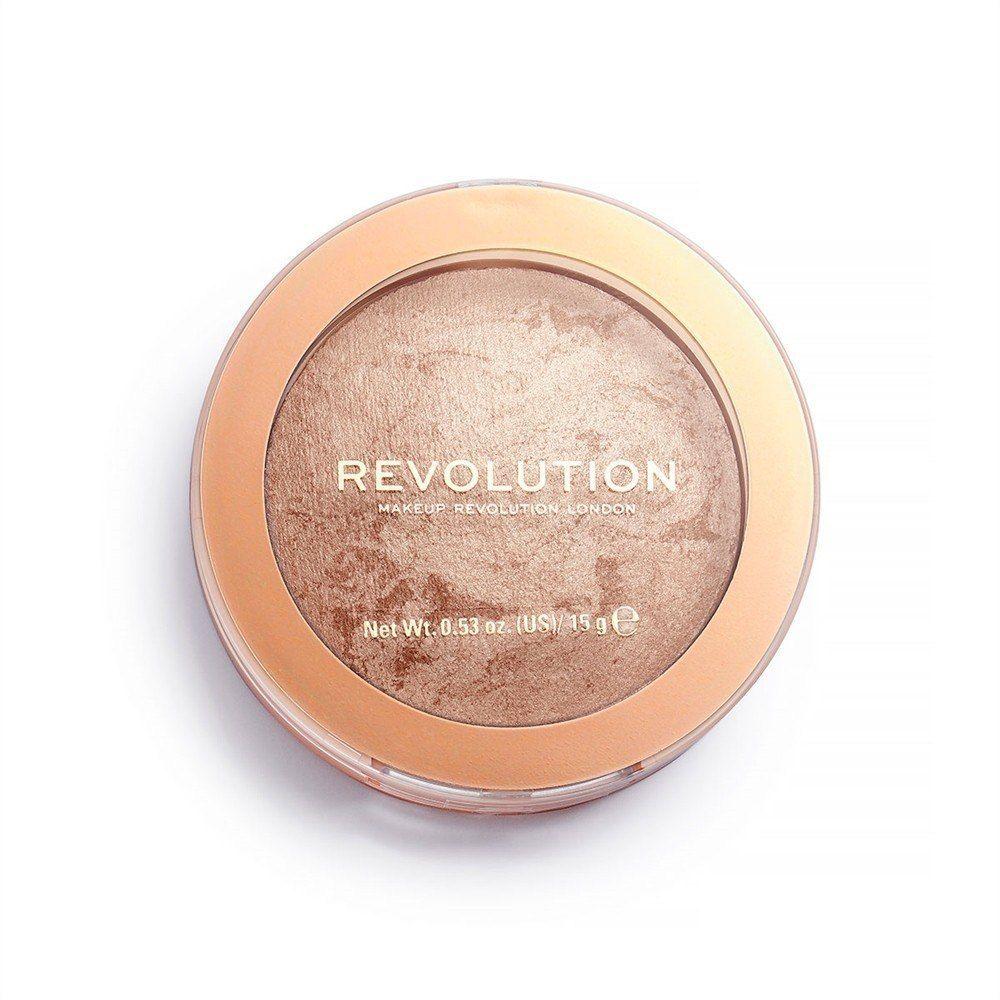 Make Up Revolution Makeup Revolution Bronzer Reloaded Spiekany Bronzer do twarzy Holiday Romance 15g