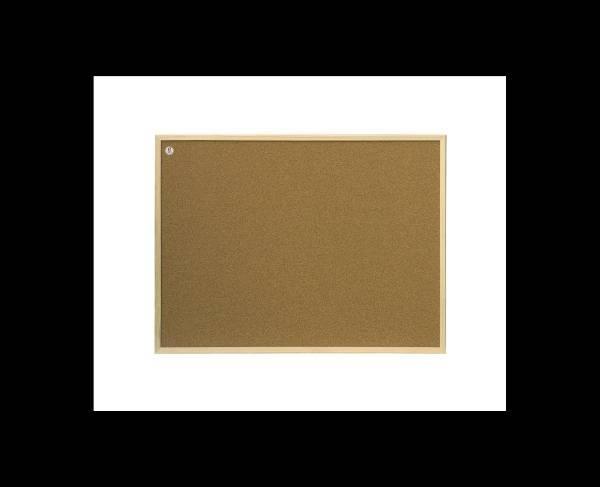 Tablica korkowa rama drewniana 60 X 40 cm 2X3 - X04218