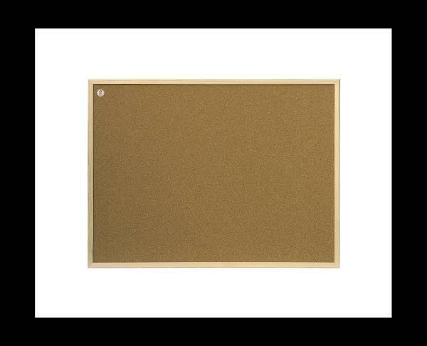 Tablica korkowa rama drewniana 90 X 120 cm 2X3 - X04214
