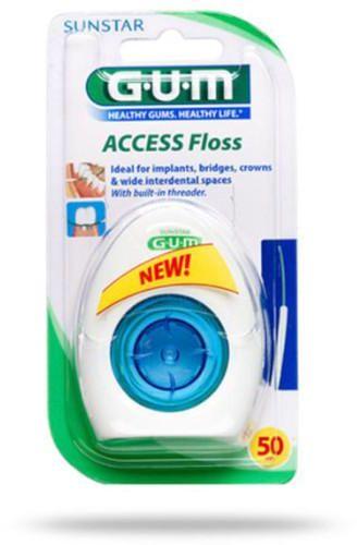 GUM Access Floss nić dentystyczna 50 sztuk