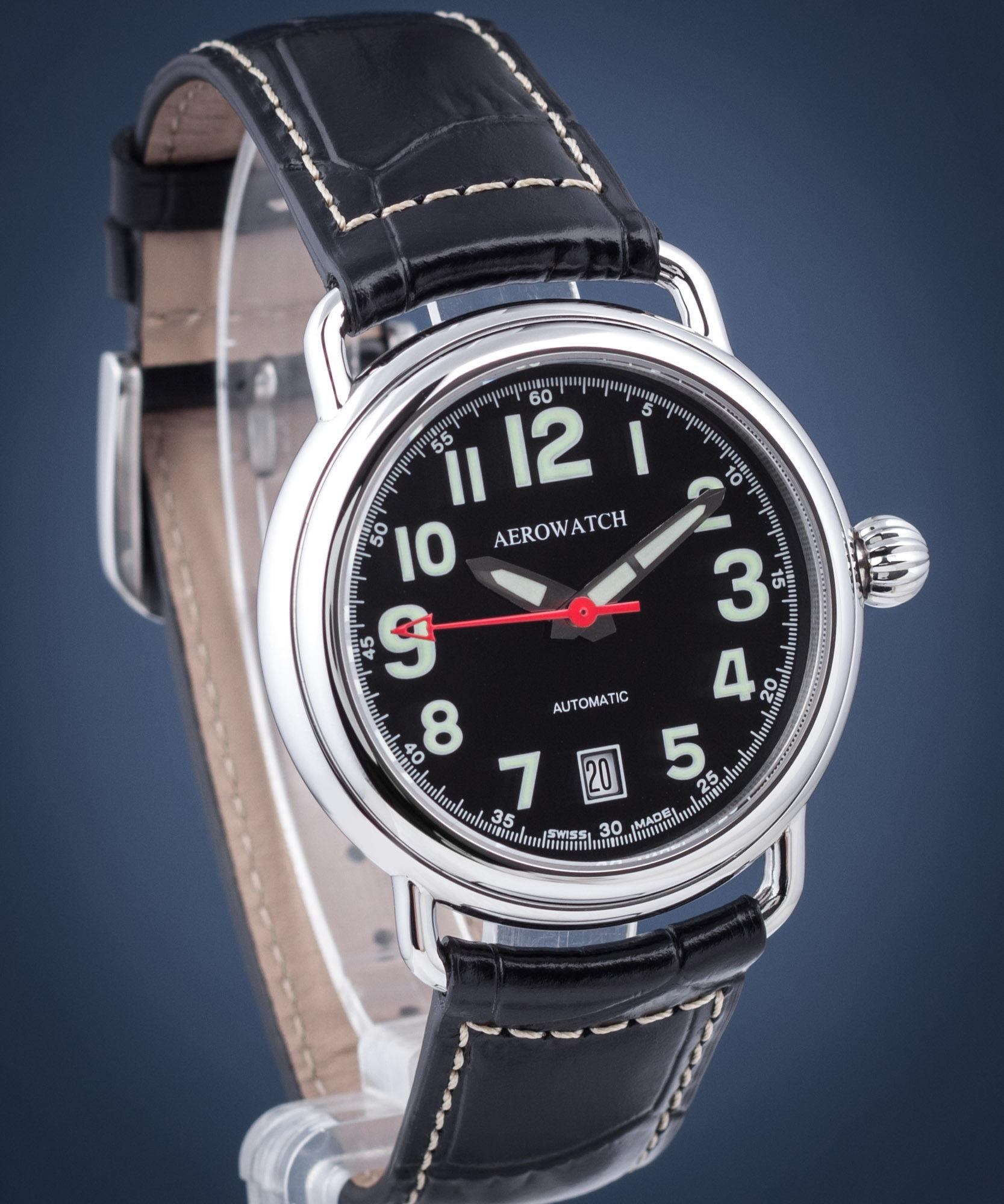 Aerowatch 60900-AA08-S > Wysyłka tego samego dnia Grawer 0zł Darmowa dostawa Kurierem/Inpost Darmowy zwrot przez 100 DNI