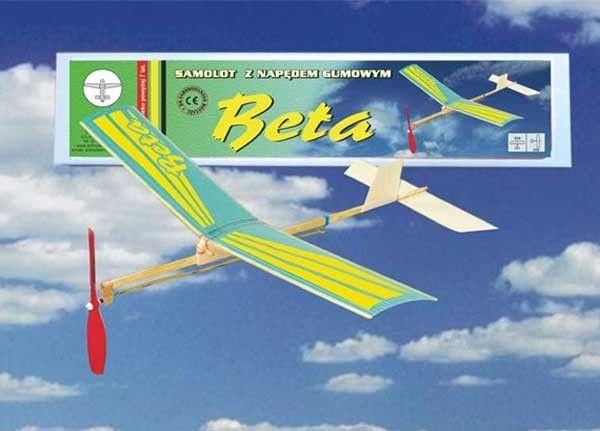 Model samolotu z napędem gumowym BETA