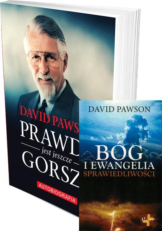 Prawda jest jeszcze gorsza / Bóg i ewangelia sprawiedliwości - David Pawson - oprawa miękka - ZESTAW