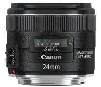 Canon EF 24mm f/2.8 IS USM Czarny