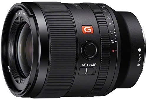 Sony SEL35F14GM - Obiektyw pełnoformatowy FE 35 mm F1.4 GM - Obiektyw podstawowy serii G Master