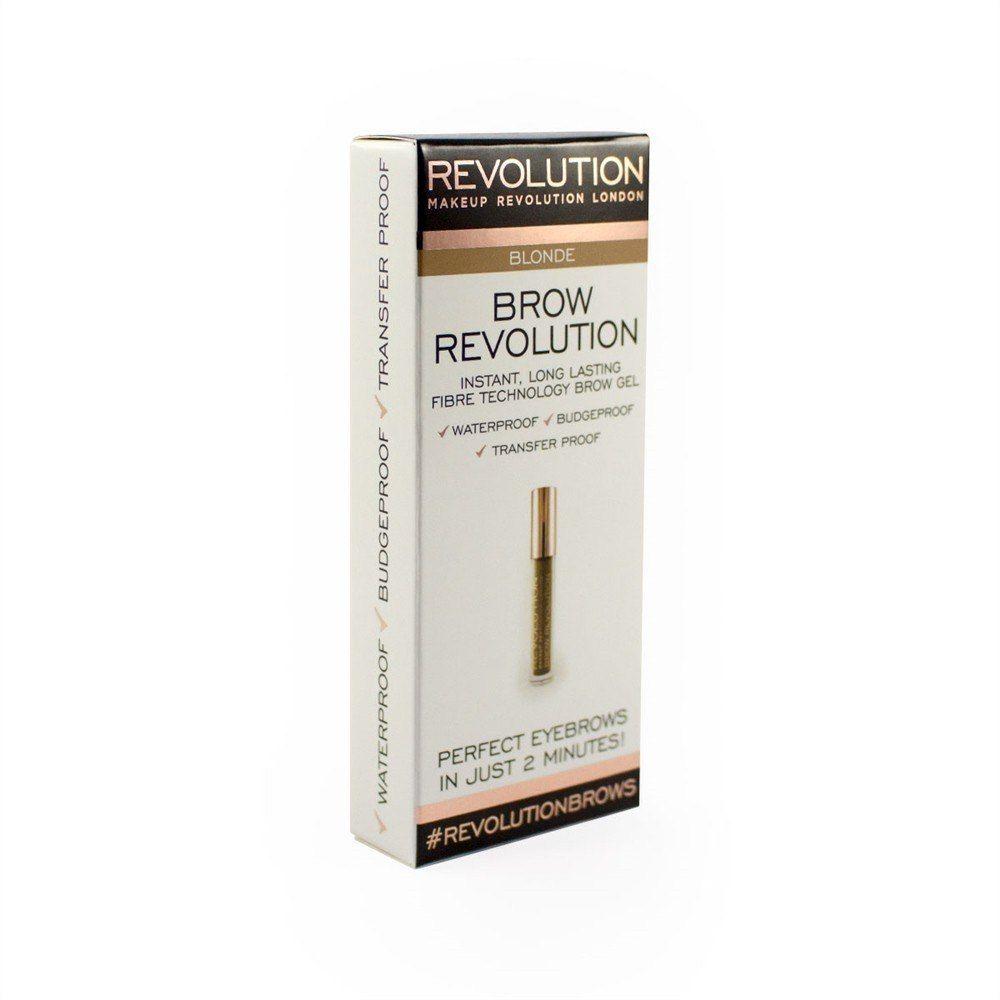 Make Up Revolution Makeup Revolution Brow Revolution Żel do brwi Blonde 3.8g