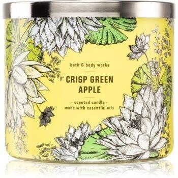 Bath & Body Works Crisp Green Apple świeczka zapachowa 411 g