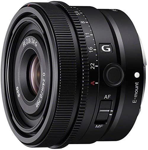 Sony SEL24F28G - obiektyw pełnowymiarowy FE 24 mm F2,8 G - Obiektyw Premium G Series Prime