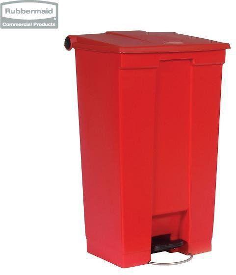Pojemnik na śmieci Step-On Container 87L red