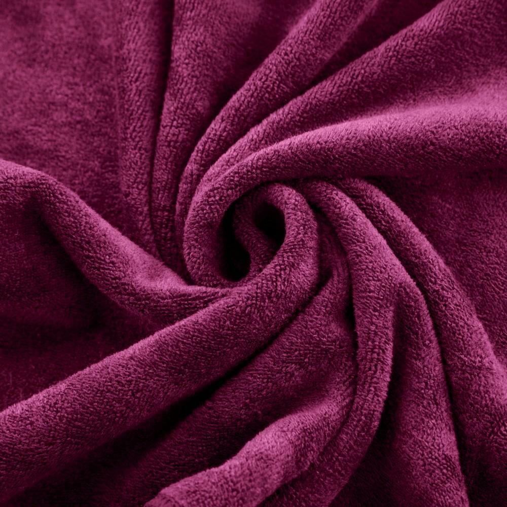 Ręcznik Szybkoschnący Amy 50x90 24 amarantowy 380 g/m2 Eurofirany