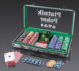 Piatnik Poker Alu-Case - 300 żetonów 14g ZAKŁADKA DO KSIĄŻEK GRATIS DO KAŻDEGO ZAMÓWIENIA