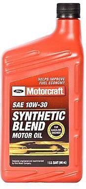 Syntetyczny olej silnikowy Motorcraft 10W30 1L Ford