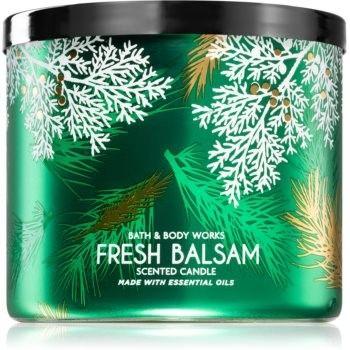 Bath & Body Works Fresh Balsam świeczka zapachowa 411 g