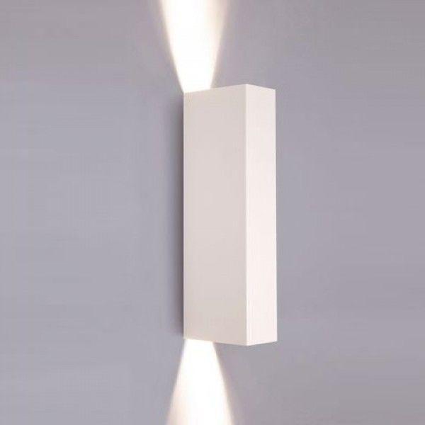 Kinkiet 2 punktowy biały Malmo GU10 metalowy 9704 - Nowodvorski Do -17% rabatu w koszyku i darmowa dostawa od 299zł !