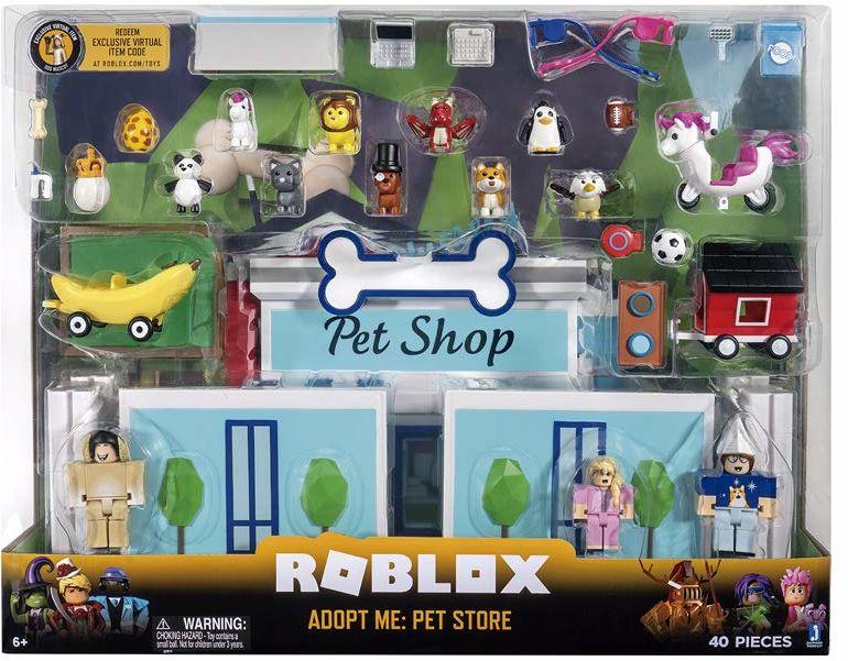 Roblox ROG0177 Adopt Me Pet Store zestaw do zabawy, figurki i akcesoria