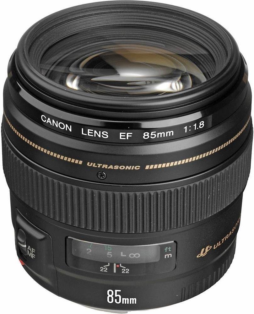 Canon EF 85mm f/1.8 USM Czarny