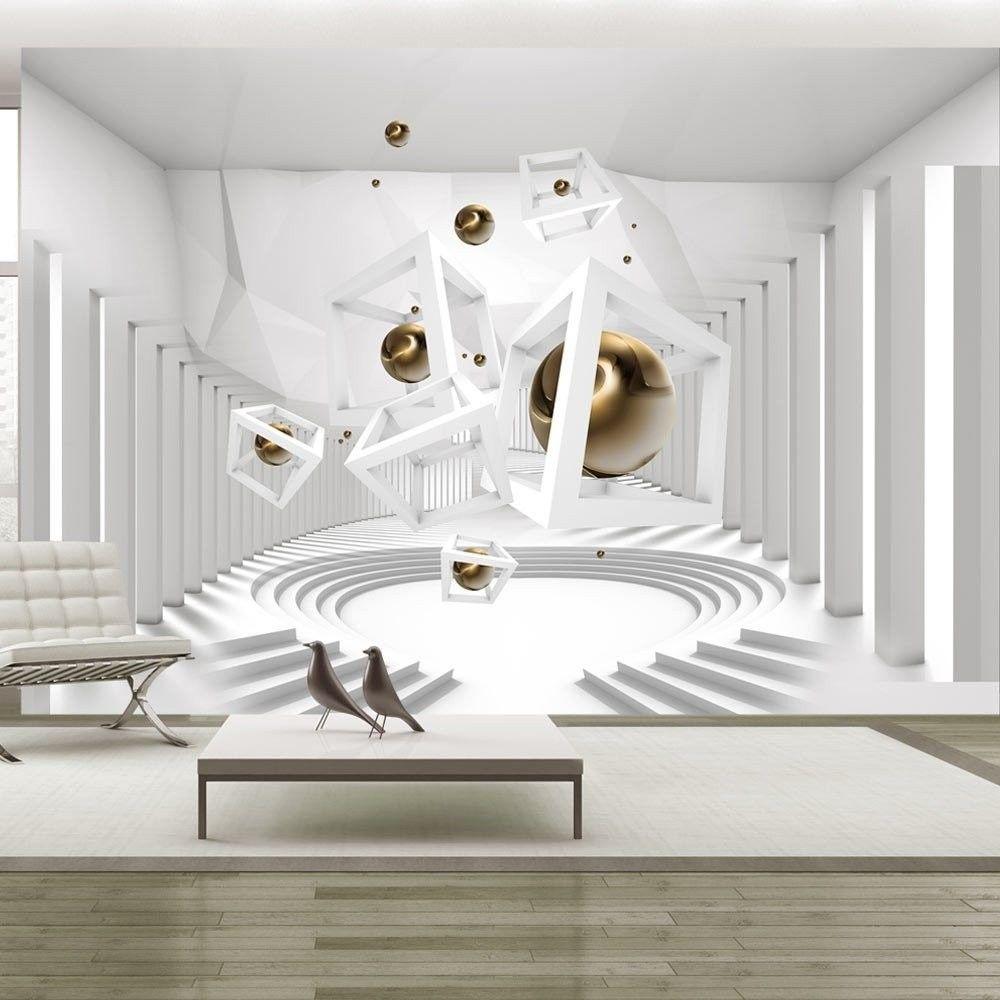 Fototapeta - geometryczny korytarz
