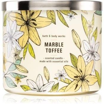 Bath & Body Works MarbleToffee świeczka zapachowa I. 411 g