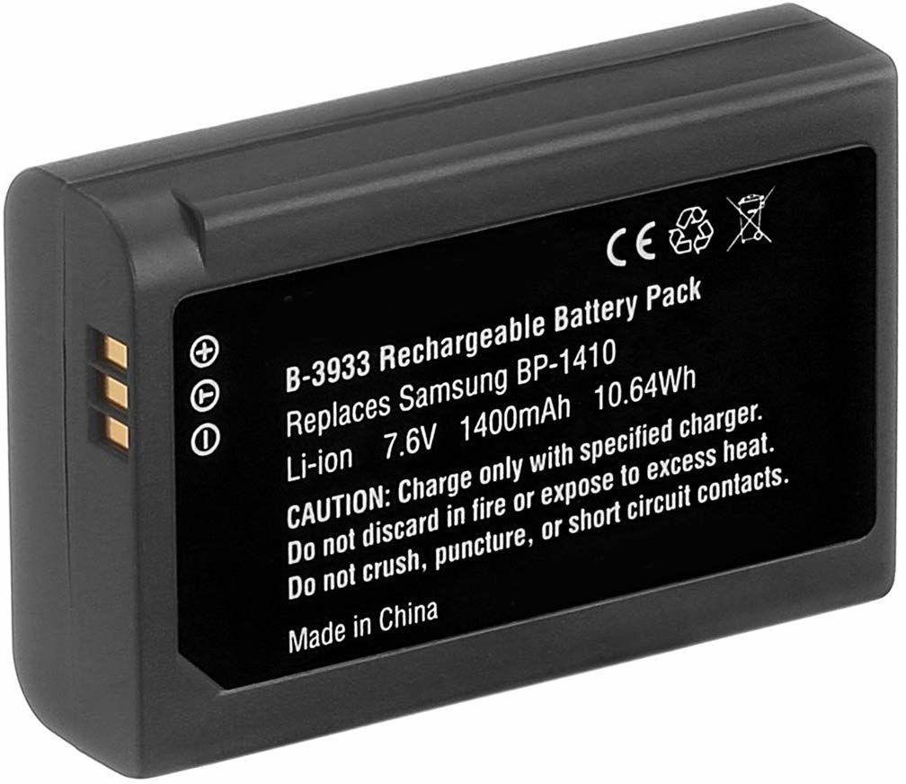 Cyfrowy zamiennik aparatu i baterii kamery do Samsung IA-BP1410, WB2200F