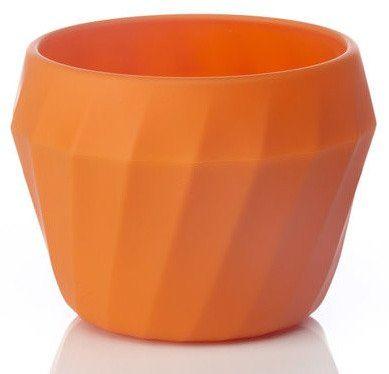 Silikonowa miska 2w1 Humangear Flexibowl - orange