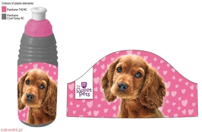 BIDON PLASTIKOWY - PIES 601692 The Sweet Pets
