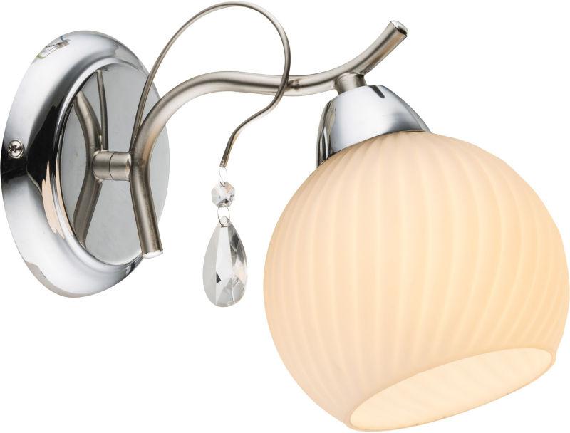 Globo PERDITA 54711W kinkiet lampa ścienna chrom nikiel mat 1xE14 60W 12,5cm