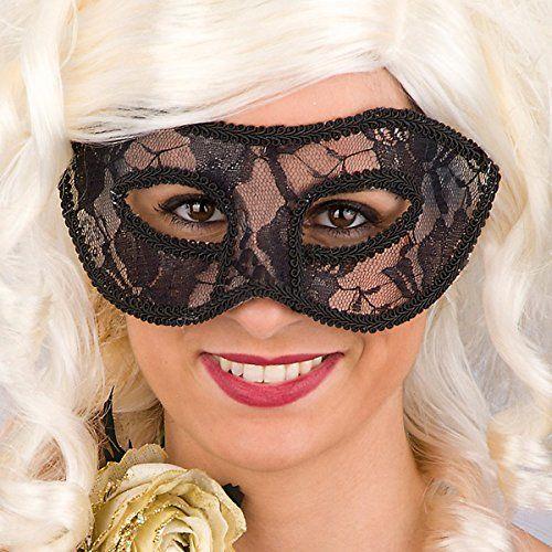 Carnival Toys 00818  maska dla dorosłych  czarny kot, PCW