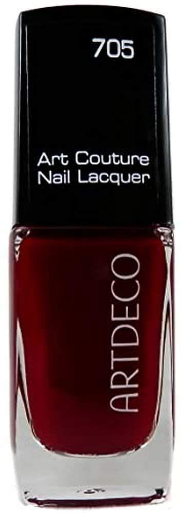ARTDECO Art Couture Nail Lacquer, lakier do paznokci czerwony, nr 705, berry