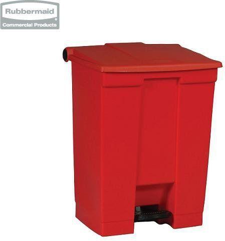 Pojemnik na śmieci Step-On Container 68,1L red