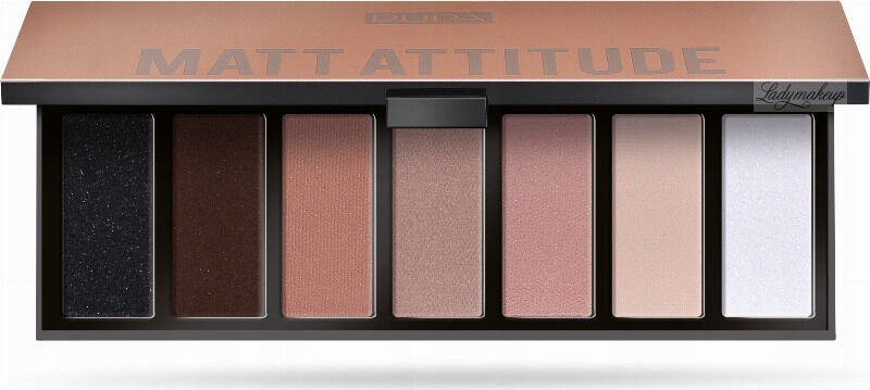 PUPA - MAKEUP STORIES PALETTE - Paleta 7 cieni do powiek - 003 MATT ATTITUDE